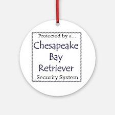Chessie Security Ornament (Round)