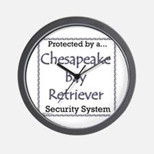 Chessie Security Wall Clock