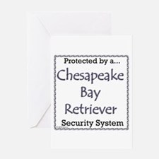 Chessie Security Greeting Card