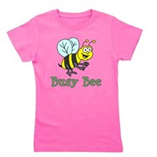 Busy Bee Cartoon Girl's Tee