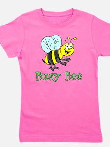 Busy Bee Cartoon Girl's Tee