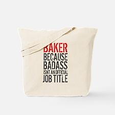 Badass Baker Tote Bag
