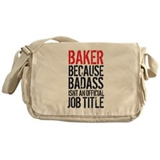 Badass Baker Messenger Bag