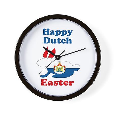 Dutch Easter Wall Clock