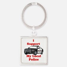 Support Local Police Keychains