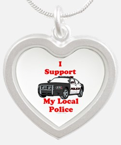 Support Local Police Necklaces