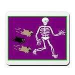 Pug-o-ween Bones Mousepad