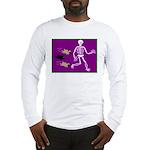 Pug-o-ween Bones Long Sleeve T-Shirt