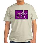 Pug-o-ween Bones Light T-Shirt