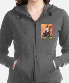 Unique Miniature bull terrier Women's Zip Hoodie