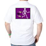 Pug-o-ween Bones Golf Shirt