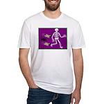 Pug-o-ween Bones Fitted T-Shirt