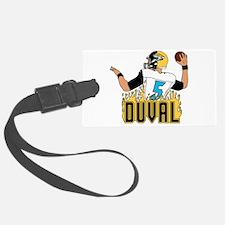 Duval QB #4 Luggage Tag
