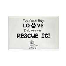 rescue love Magnets