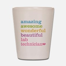 Amazing Lab Technician Shot Glass