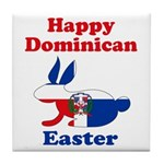 Dominican Easter Tile Coaster