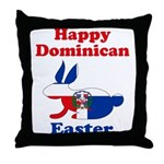 Dominican Easter Throw Pillow