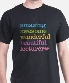Amazing Lecturer T-Shirt