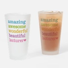 Amazing Lecturer Drinking Glass