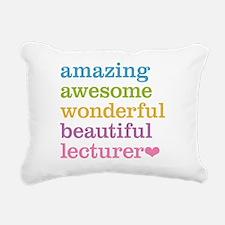 Amazing Lecturer Rectangular Canvas Pillow