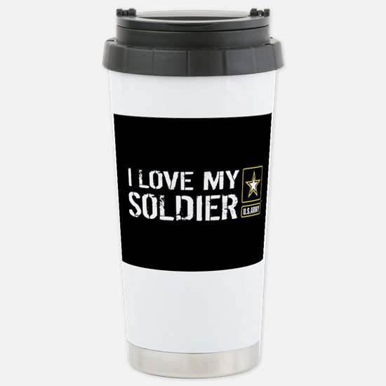 U.S. Army: I Love My So Stainless Steel Travel Mug