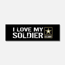 U.S. Army: I Love My Soldier (Bl Car Magnet 10 x 3