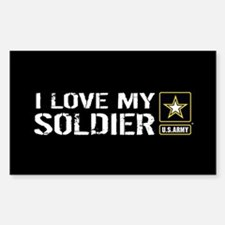 U.S. Army: I Love My Soldier ( Decal