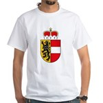 Salzburg Coat of Arms White T-Shirt