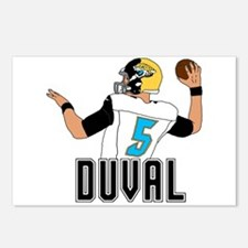 Duval QB #3 Postcards (Package of 8)