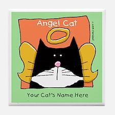 YOUR TUXEDO CAT MEMORIAL Tile Coaster