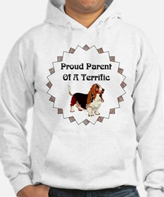 Proud Parent Of A Terrific Basset Hound Hoodie