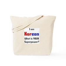 i am korean Tote Bag