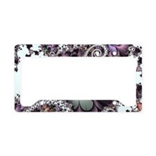 Sufi Whirl Fractal License Plate Holder