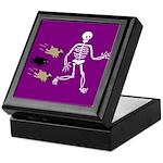 Pug-o-ween Bones Keepsake Box