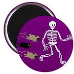 Pug-o-ween Bones Magnet