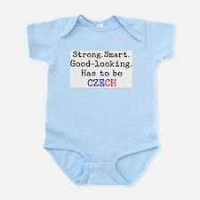 be czech Infant Bodysuit