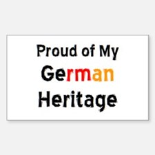 german heritage Decal