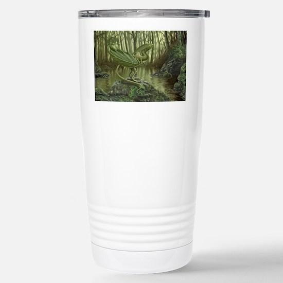Leaf Dragon Stainless Steel Travel Mug