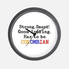 be colombian Wall Clock