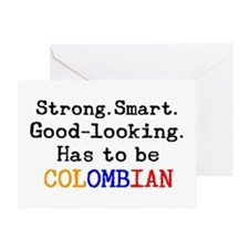 be colombian Greeting Card