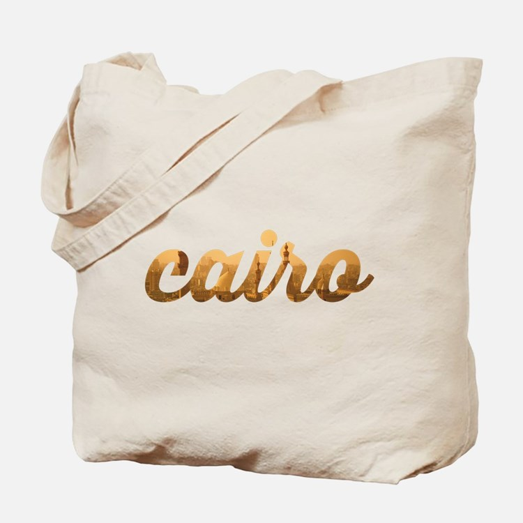 Cairo in Gold Tote Bag