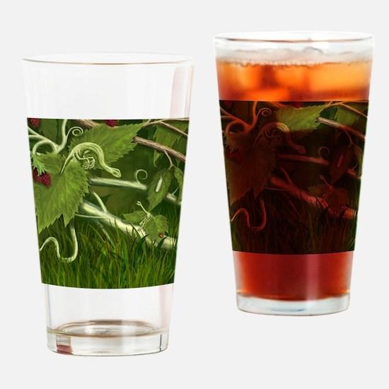 Maple Leaf dragons Drinking Glass