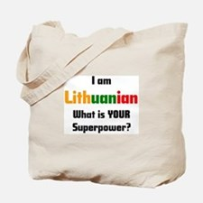 i am lithuanian Tote Bag