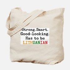 be lithuanian Tote Bag