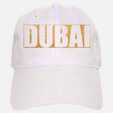 Dubai in Gold Baseball Baseball Cap
