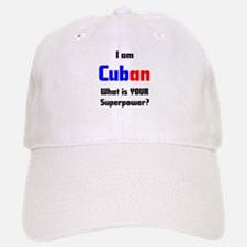 i am cuban Baseball Baseball Cap