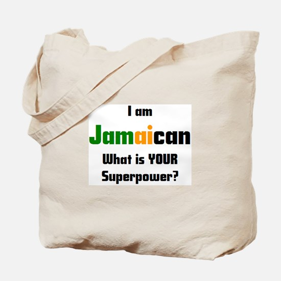 i am jamaican Tote Bag
