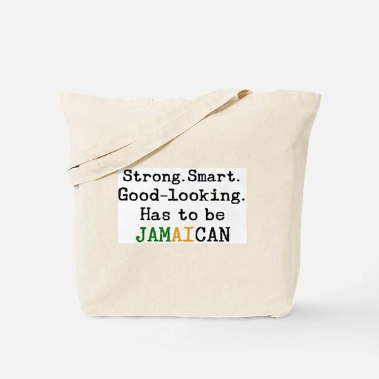 be jamaican Tote Bag