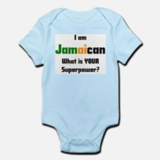 i am jamaican Infant Bodysuit