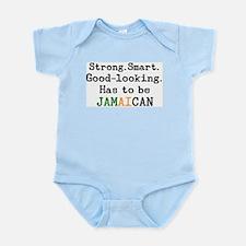 be jamaican Infant Bodysuit